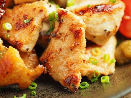 鶏むね肉のぽん酢焼き024