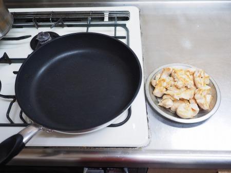 鶏むね肉と和風野菜のぽん酢056
