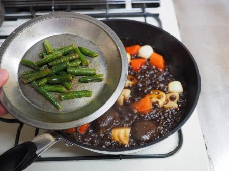 鶏むね肉と和風野菜のぽん酢062