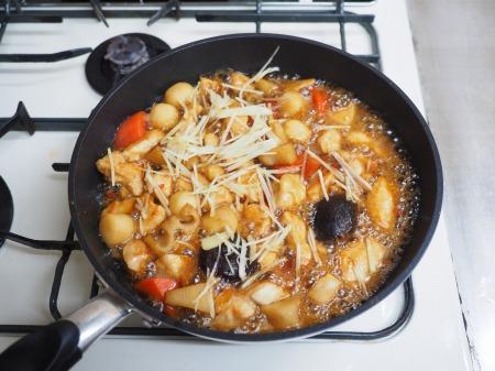 鶏むね肉と和風野菜のぽん酢067