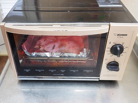 鶏むね肉のアンチョビ焼き、塩034