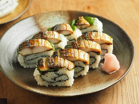 甘塩さばで焼きさば寿司029