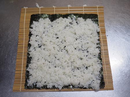 甘塩さばで焼きさば寿司056