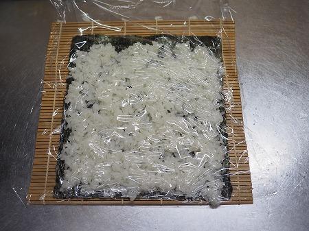 甘塩さばで焼きさば寿司057