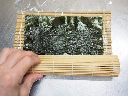 甘塩さばで焼きさば寿司059