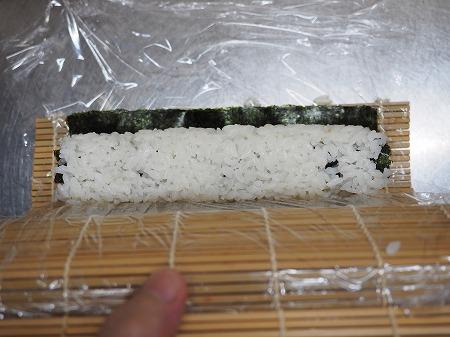 甘塩さばで焼きさば寿司061
