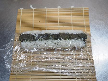 甘塩さばで焼きさば寿司062