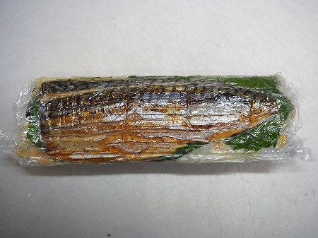 甘塩さばで焼きさば寿司074