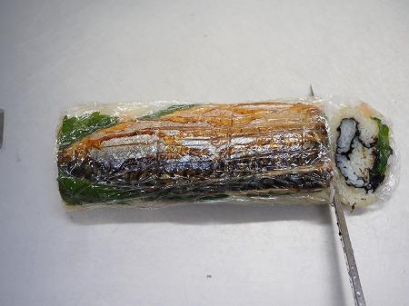 甘塩さばで焼きさば寿司075