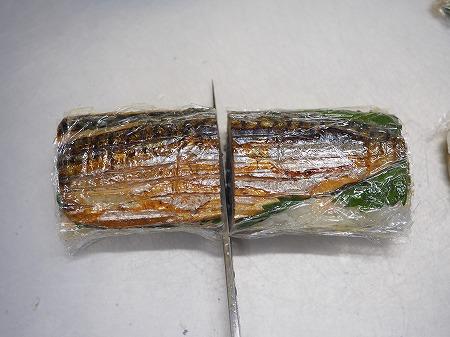 甘塩さばで焼きさば寿司076