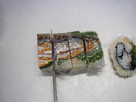 甘塩さばで焼きさば寿司077