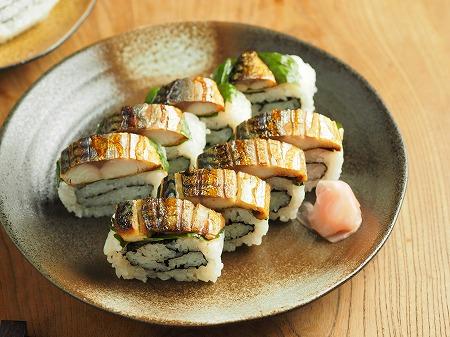 甘塩さばで焼きさば寿司031