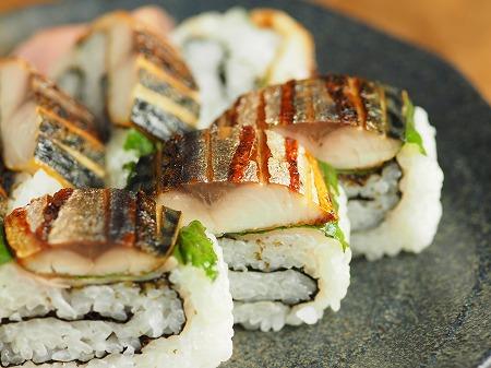 甘塩さばで焼きさば寿司020