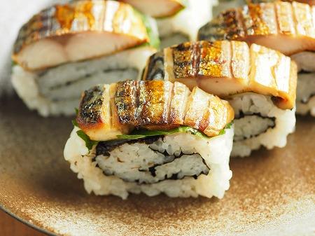 甘塩さばで焼きさば寿司026