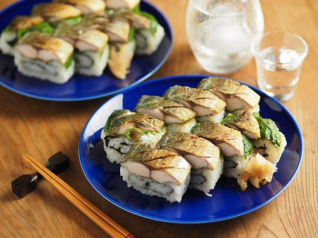 焼き鯖寿司006