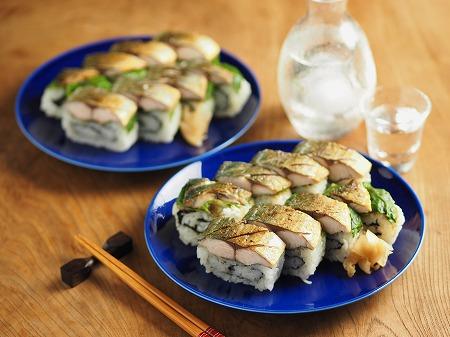 焼き鯖寿司009