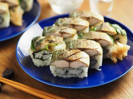 焼き鯖寿司018