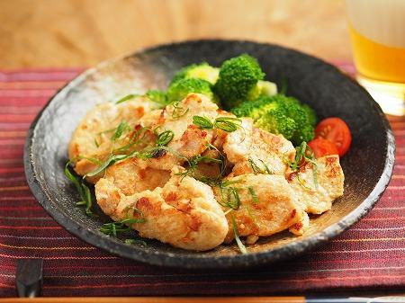 鶏むね肉の明太焼き002