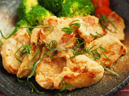 鶏むね肉の明太焼き026