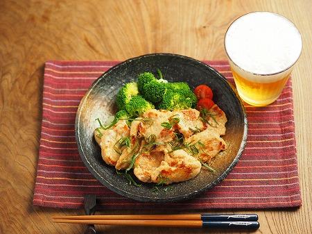 鶏むね肉の明太焼き022