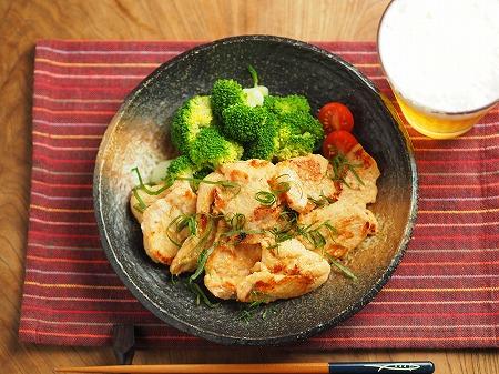鶏むね肉の明太焼き023