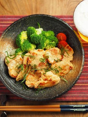 鶏むね肉の明太焼き033