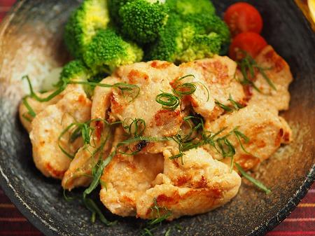 鶏むね肉の明太焼き025