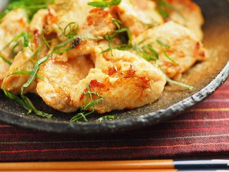 鶏むね肉の明太焼き029