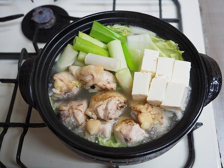 炙り鶏の水炊き054
