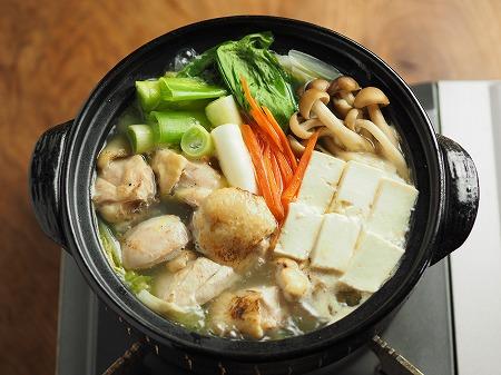 炙り鶏の水炊き024