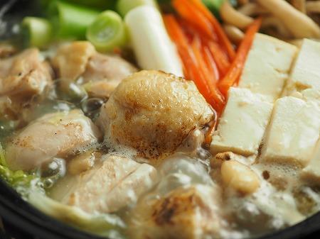 炙り鶏の水炊き017