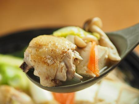 炙り鶏の水炊き028