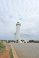 東平安名崎にある灯台