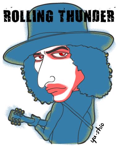 Bob Dylan caricature likeness