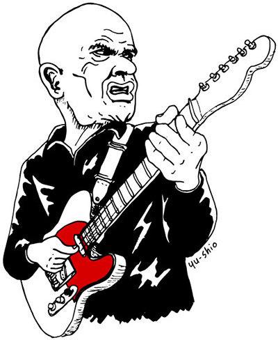 Wilko Johnson caricature likeness