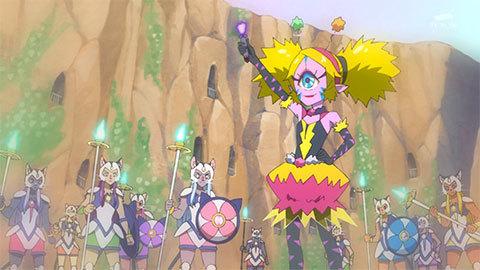 【スター☆トゥインクルプリキュア】第19話「虹の星へ☆ブルーキャットのヒミツ!」09