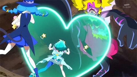 【スター☆トゥインクルプリキュア】第20話「銀河に光る☆キュアコスモ誕生!」10