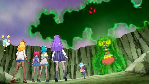 【スター☆トゥインクルプリキュア】第21話「虹色のスペクトル☆キュアコスモの力!」02