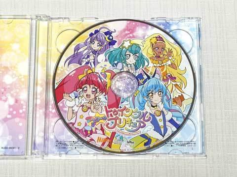 【スター☆トゥインクルプリキュア後期主題歌シングル】CD