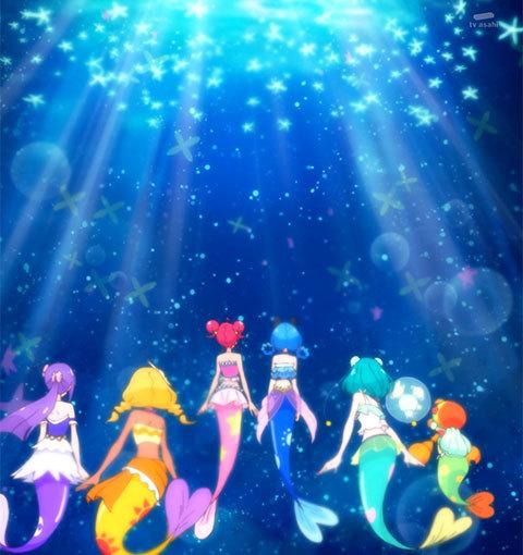【スター☆トゥインクルプリキュア】第27話「海の星!人魚になってスーイスイ☆」10