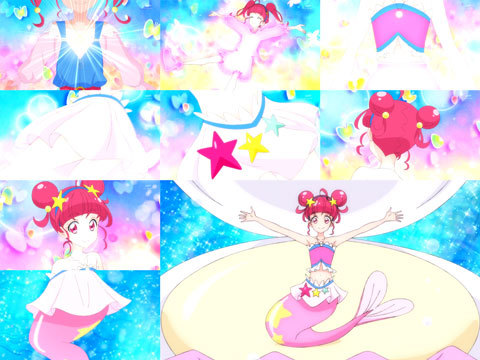 【スター☆トゥインクルプリキュア】第27話「海の星!人魚になってスーイスイ☆」06