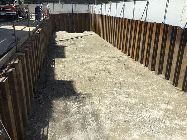 2019/05/21 立駐掘削完了