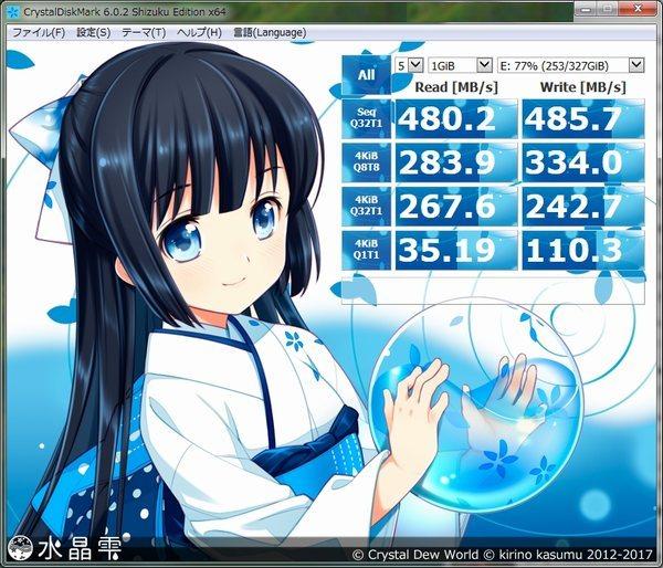 CFD販売960GBSSDベンチマーク2