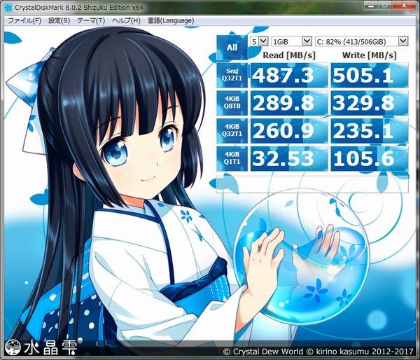 CFD販売960GBSSDベンチマーク1