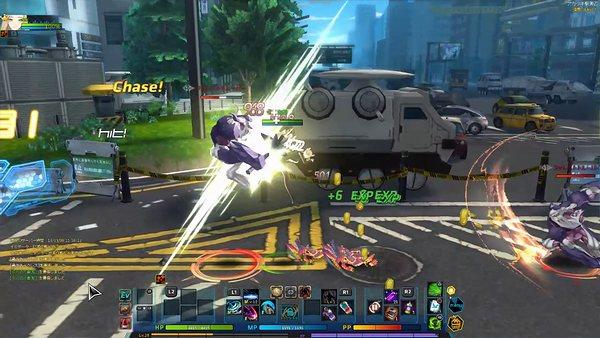 PS4版CLOSERSのスクリーンショット