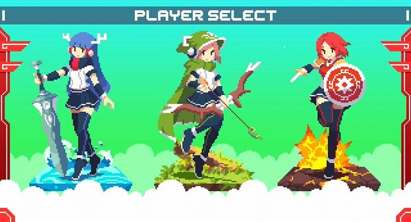 神巫女キャラクター選択