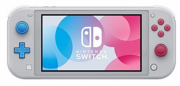 Nintendo Switch Lite ポケモンソードシールドモデル表