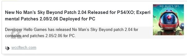 New No Man's Sky Beyond Patch 2.04 Released