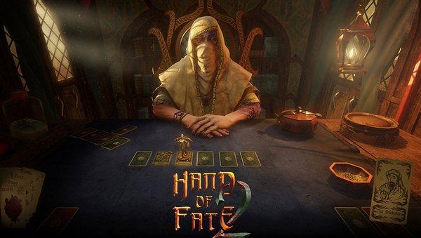 Hand of Fate 2のスタート画面