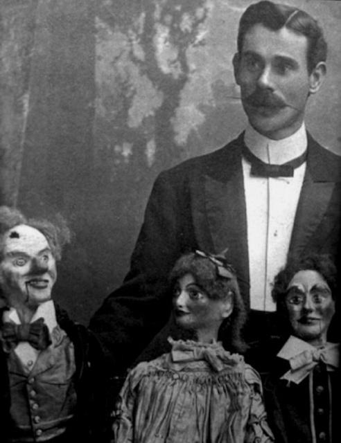 昔の腹話術人形の画像(11枚目)